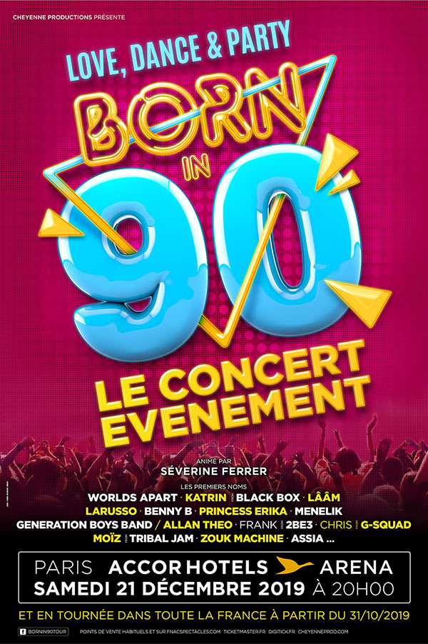 Born In 90 @ St Etienne