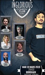 Inglorious Comedy Club @ Bordeaux