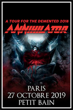 Annihilator + Guest @ Paris