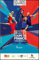Finales Coupe De France De Handball @ Paris