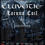 Eluveitie-lacuna Coil-infected Rain @ Ramonville St Agne