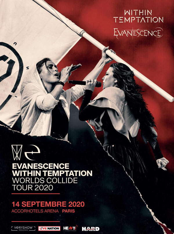 Within Temptation & Evanescence @ Paris