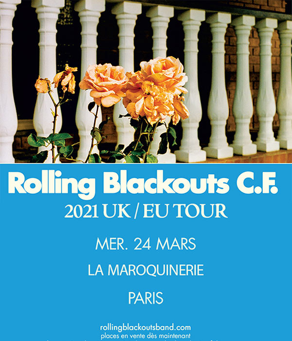 Rolling Blackouts Coastal Fever @ Paris
